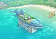 けものフレンズ2 空から伊豆囚人島を見てみよう