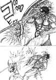 流行らなそうな格闘漫画の主人公、カウンターを食らってしまう