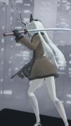 【MMDマイナーモデル使用作】ギャングゼロ姉ちゃんフィギュア、背中から