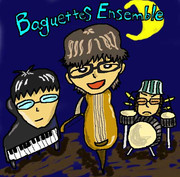【描いてみた】Baguettes Ensemble ver.JAZZナイト【ステディ】
