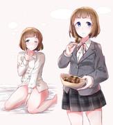 ■工藤忍ちゃんと制服デート