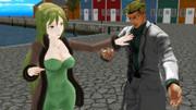 【Fate/MMD】危険な邂逅【ジョジョMMD】