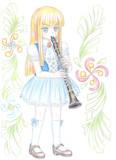 Rosa und klarinette