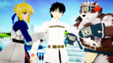 放サモ X FATE: サモナー戦争