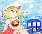 北の夜汽車と吸血少女  ― SCARLET HAMANASU ―