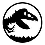某恐竜園ロゴ・抽象化ver.