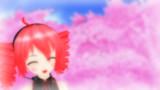 桜と笑顔とテトさんと