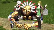 【Fate/MMD】エイプリル・ザ・フール【ジョジョMMD】