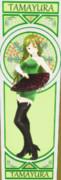 玉響、六導玲霞のカード6(カラー)【MMDマイナーモデル使用作】