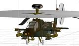 AH-64D製作中その1