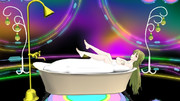 美女の入浴 【MMDマイナーモデル使用作】