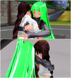 ユナさんは優しいお母さん