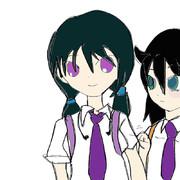ゆりちゃんと智子
