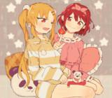 マツリちゃん&ホムラちゃん