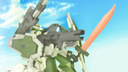 【MMDマイナーモデル使用作】砲撃リベルタフィギュアを横からアップで!