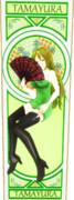 玉響、六導玲霞のカード7(カラー)【MMDマイナーモデル使用作】