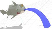 【MMDモデル配布】ぎょぎょ式クラッシュ(ver.1.13)