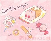 キャンディなカービィとワドルディ
