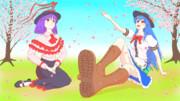 【東方ニコ楽祭・花見】天を仰ぐ