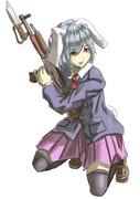 ブレザーと銃剣