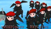 【オリフレ表情差分】オオグンカンドリ&アメリカグンカンドリ