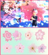 【MMD】桜の和傘【アクセサリ配布】