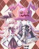 パンテーラちゃんと魔女ちゃん