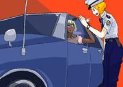 車のライセンスを見せても自分の車を盗難車警察官に疑われるASTK姉貴