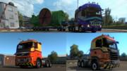 【ETS2 スキン配布】結月通運仕様トラックスキンV2