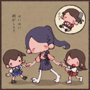 鳳翔さんとちっこい子たち