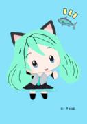 猫型ミクちゃん