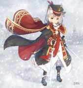 雪国の剣士