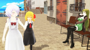 【Fate/MMD】なかよし【東方MMD】