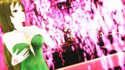 枝垂れ桜のシャワーを浴びる玲霞さん!【Fate/MMD】