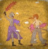 【壁画】火産霊神と天翔龍閃