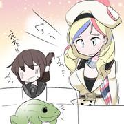 フランス艦とカエルと本能と