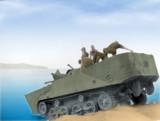 サンダース大學附屬高校男子戰車道部が特二式内火艇 カミ車を使つてみた