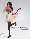 MMD - TDA Akira neko dress