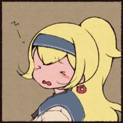 浮輪の耳飾りの少女