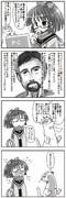 昔、坂崎ふれでぃさんに描いて頂いた四コマ 3