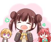 ちょこ先輩はー!お菓子をいっぱい食べまーーーす!!!