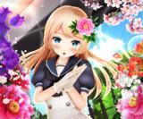【今日のジャヴィちゃん】花飾りを飾ってみたよ~♡