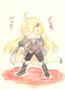 悪魔城ドラキュラX】あかりちゃんの悪魔城! 月下の夜想曲 支援絵