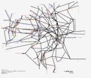 東京都路線図 2019-04