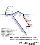 山梨県路線図 2018-01
