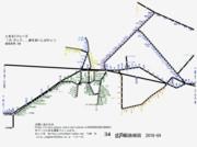 広島県路線図 2019-04