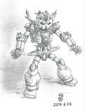 攻撃型超MS「グスターヴ・ガンダム」