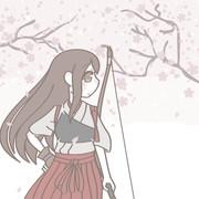 花咲く桜の木の枝