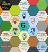 【艦これ】the 6th Ship, the 6th Anniversary