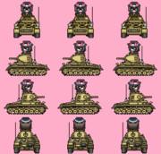 Ⅱ号戦車F型 西住仮面搭乗Ver